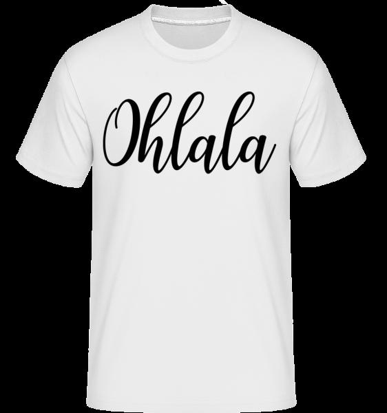 Ohlala - Shirtinator Männer T-Shirt - Weiß - Vorn
