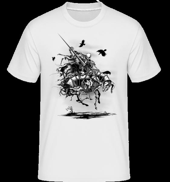 Toter Ritter - Shirtinator Männer T-Shirt - Weiß - Vorn