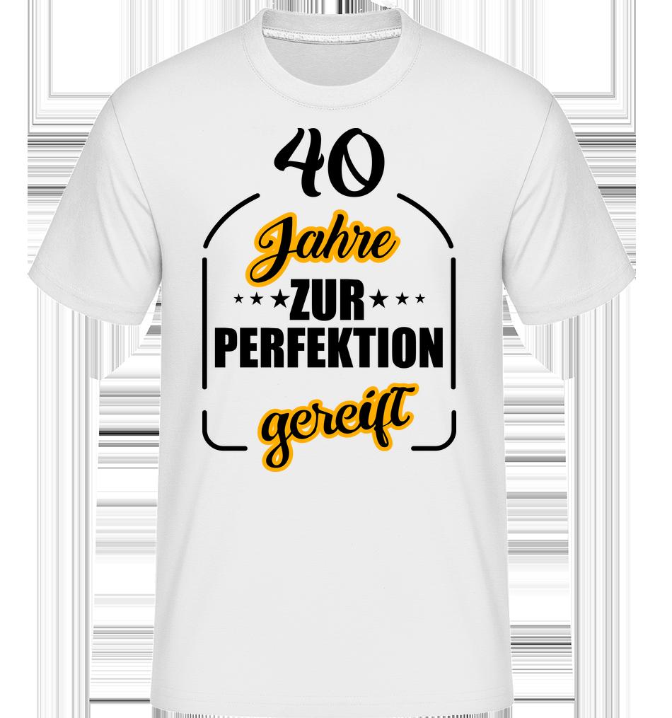 40 jahre gereift · shirtinator männer t-shirt | shirtinator