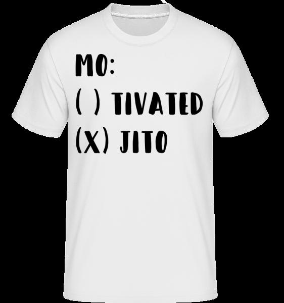 Motivated Mojito - Shirtinator Männer T-Shirt - Weiß - Vorn
