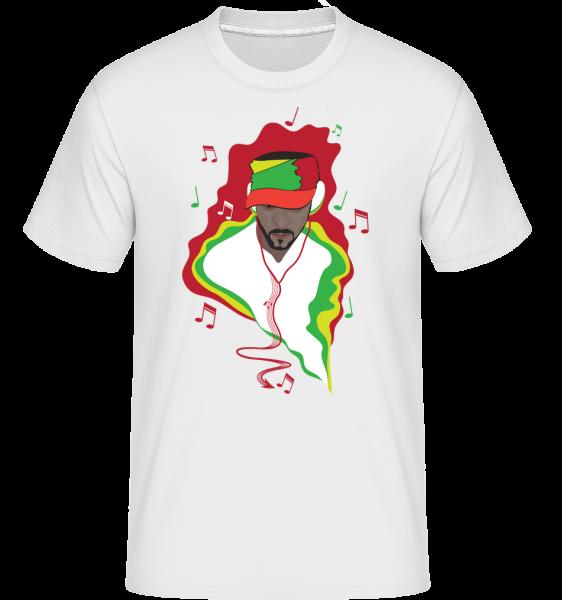 Musik DJ - Shirtinator Männer T-Shirt - Weiß - Vorn