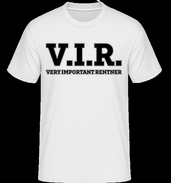 Very Important Rentner - Shirtinator Männer T-Shirt - Weiß - Vorn