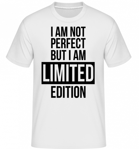 I'm Limited Edition - Shirtinator Männer T-Shirt - Weiß - Vorn
