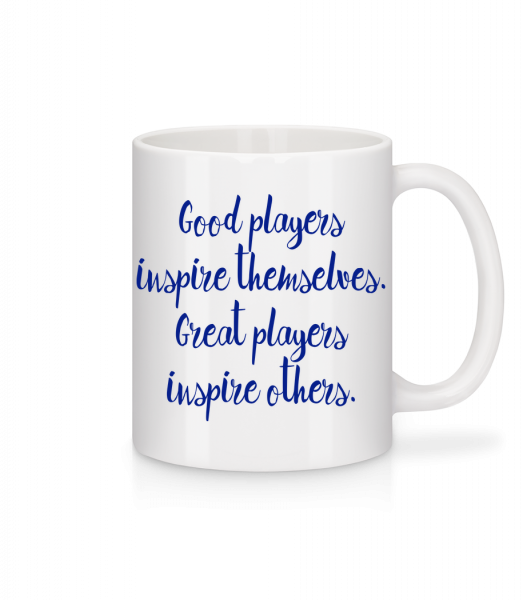 Great Players - Mug - White - Front