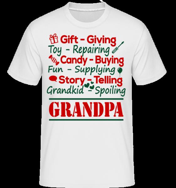 The Perfect Grandpa - Shirtinator Men's T-Shirt - White - Vorn