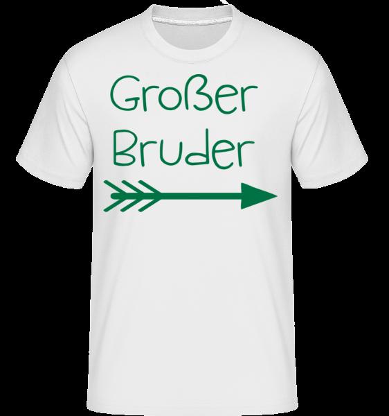 Großer Bruder - Shirtinator Männer T-Shirt - Weiß - Vorn