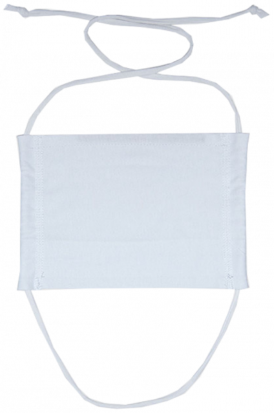 Plan For The Day - Mouth and Nose Mask - White - Front