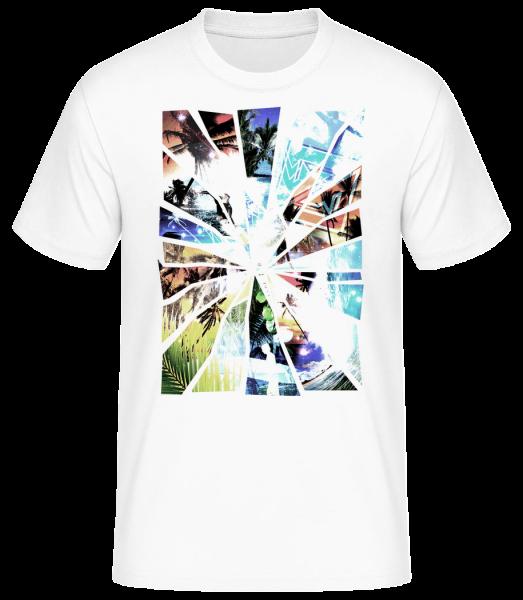 Holiday Splinter - Men's Basic T-Shirt - White - Front