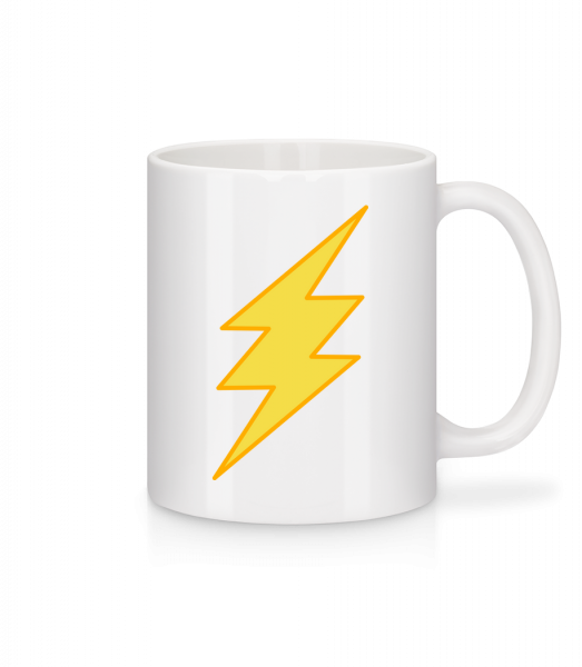 Flash Icon - Tasse - Weiß - Vorn
