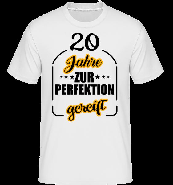 20 Jahre Gereift - Shirtinator Männer T-Shirt - Weiß - Vorn