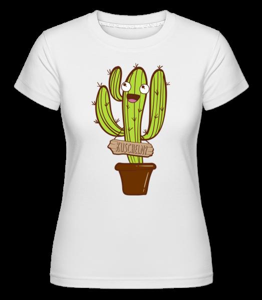 Kuscheln? - Shirtinator Frauen T-Shirt - Weiß - Vorn