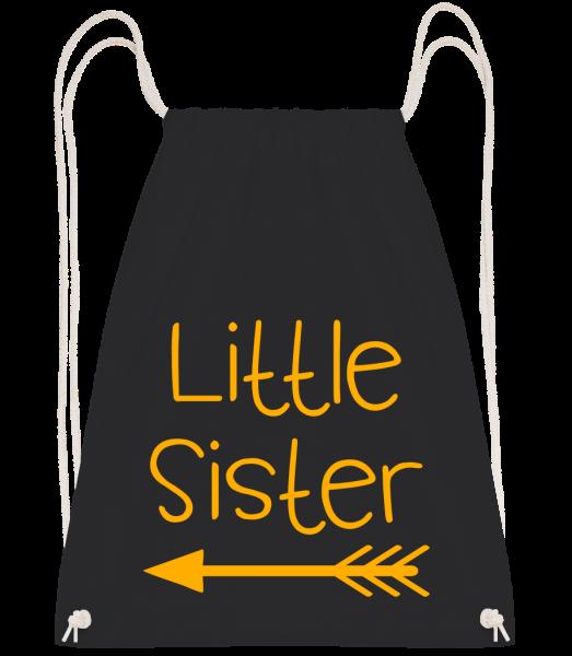 Little Sister - Drawstring Backpack - Black - Vorn