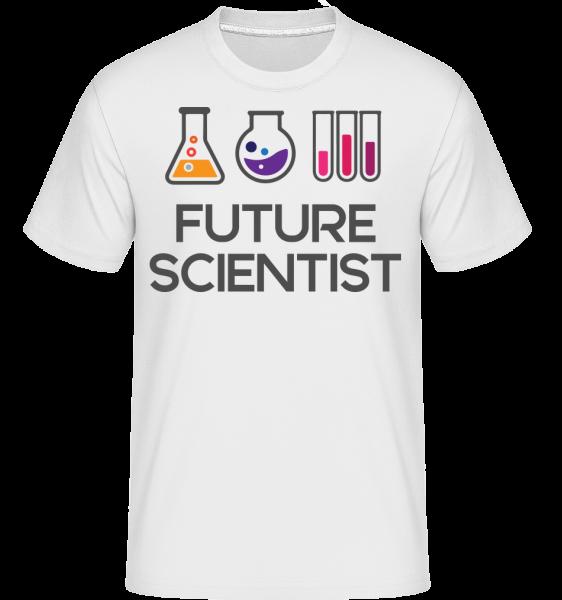 Future Scientist - Shirtinator Männer T-Shirt - Weiß - Vorn