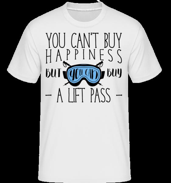 You Can Buy A Lift Pass -  Shirtinator Men's T-Shirt - White - Vorn