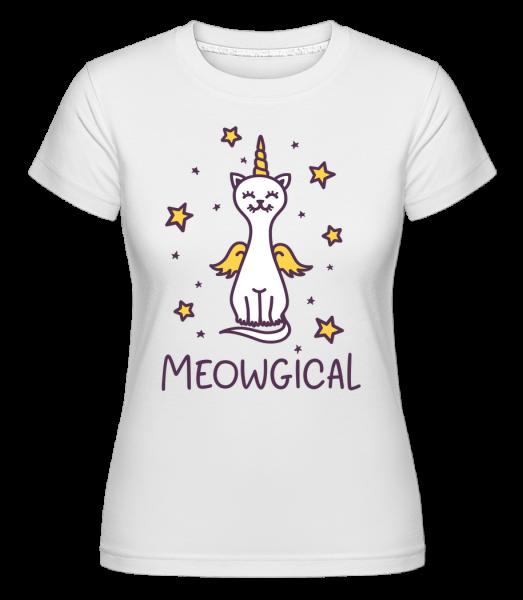 Meowgical -  Shirtinator Women's T-Shirt - White - Vorn