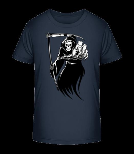 The Death - Kid's Premium Bio T-Shirt - Navy - Front