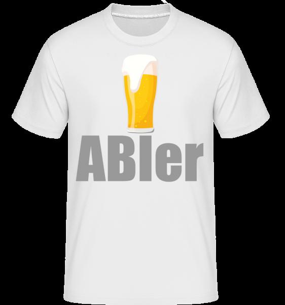 ABIer - Shirtinator Männer T-Shirt - Weiß - Vorn