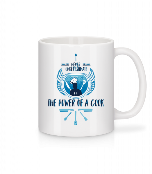 The Power Of A Cook - Mug - White - Front
