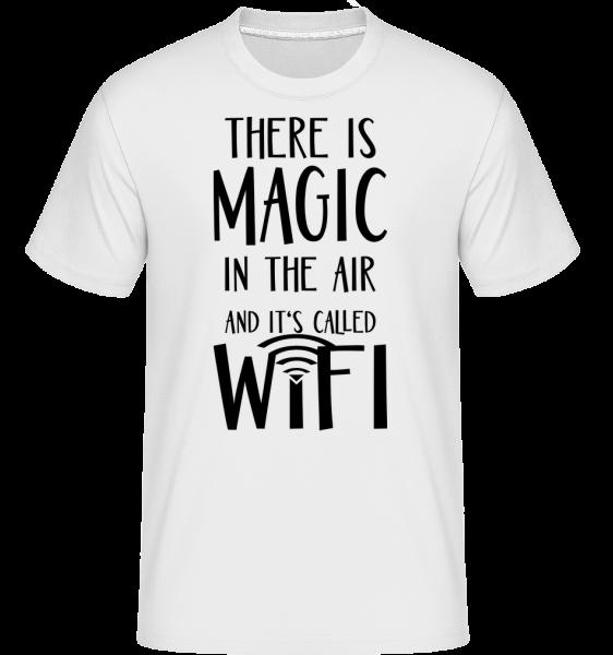 Magic In The Air - Shirtinator Männer T-Shirt - Weiß - Vorn