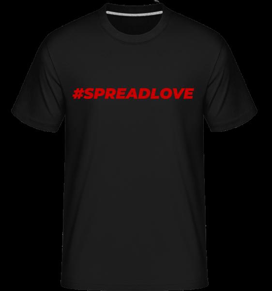 Spreadlove - Shirtinator Männer T-Shirt - Schwarz - Vorn