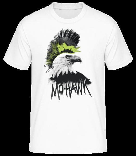 Mohawk - Men's Basic T-Shirt - White - Front