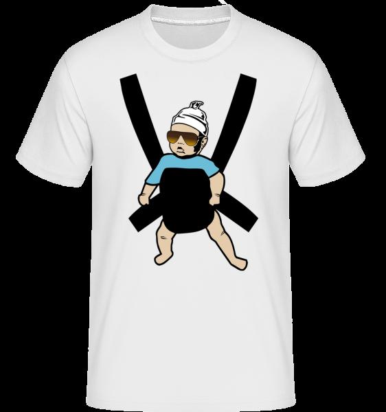 Hang Over Baby - Shirtinator Männer T-Shirt - Weiß - Vorn