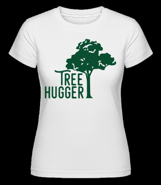 Tree Hugger - Shirtinator Frauen T-Shirt - Weiß - Vorn
