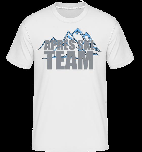 Après Ski Team - Shirtinator Männer T-Shirt - Weiß - Vorn
