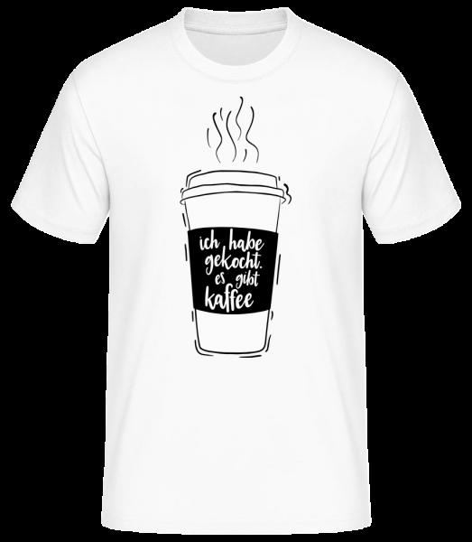 Ich Habe Gekocht - Basic T-Shirt - Weiß - Vorn
