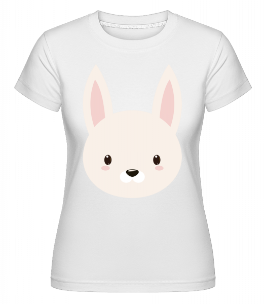 Hase Comic - Shirtinator Frauen T-Shirt - Weiß - Vorn