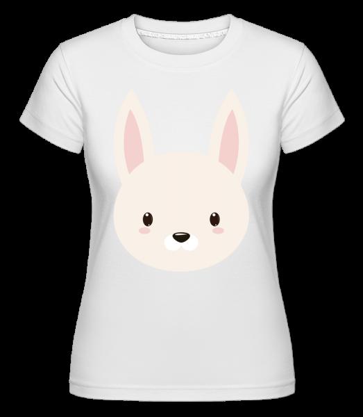 Bunny Comic -  Shirtinator Women's T-Shirt - White - Vorn
