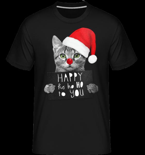 Happy Ho Ho Ho To You -  Shirtinator Men's T-Shirt - Black - Vorn