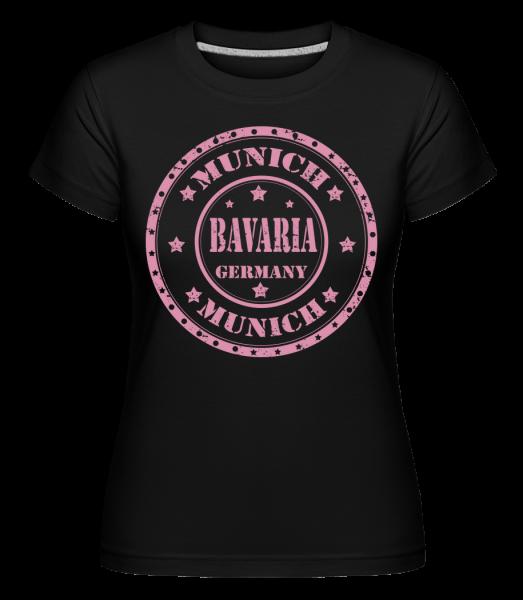 Munich Bavaria - Shirtinator Frauen T-Shirt - Schwarz - Vorn