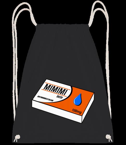 Mimimi Forte - Turnbeutel - Schwarz - Vorn