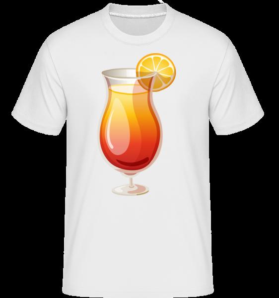 Cocktail Sex On The Beach -  Shirtinator Men's T-Shirt - White - Vorn