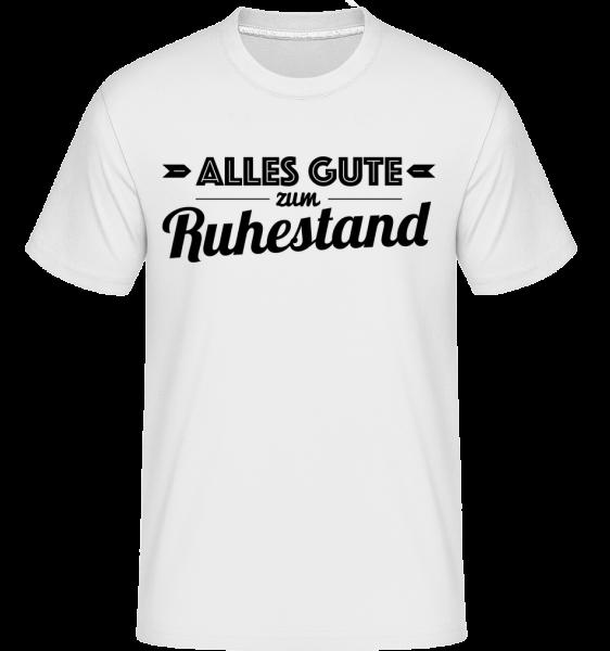 Alles Gute Zum Ruhestand - Shirtinator Männer T-Shirt - Weiß - Vorn