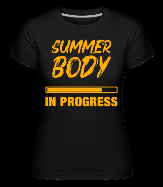 Summer Body in Progress -  Shirtinator Women's T-Shirt - Black - Vorn