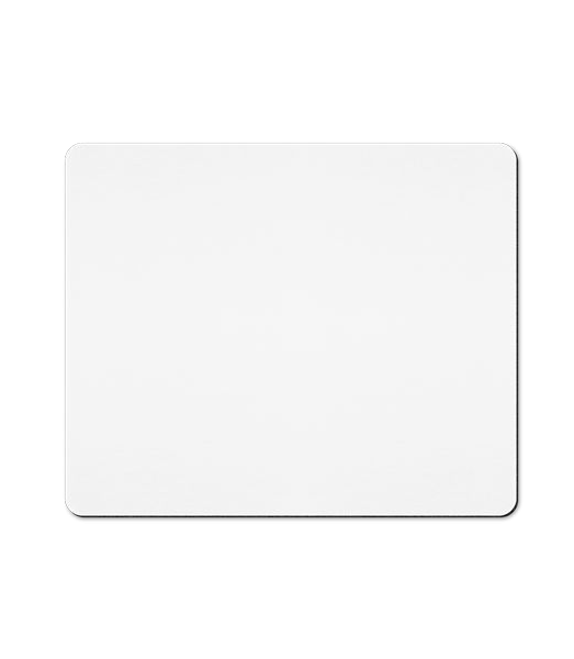 Mouse Pad - White - Front