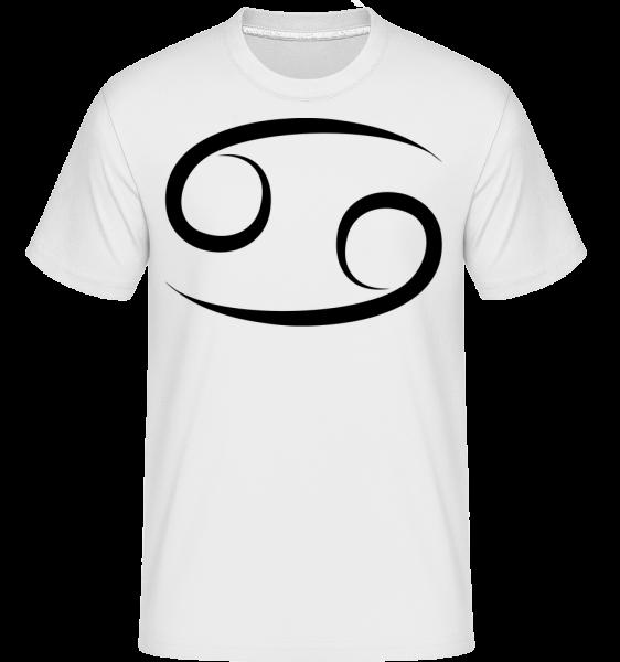 Cancer Sign - Shirtinator Men's T-Shirt - White - Vorn