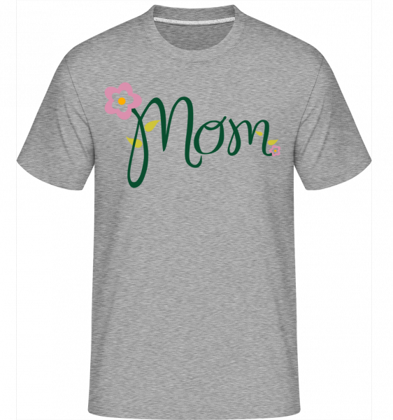 Mom Flower - Shirtinator Men's T-Shirt - Heather grey - Front