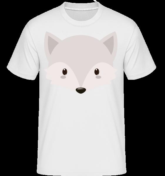 Fuchs Comic - Shirtinator Männer T-Shirt - Weiß - Vorn