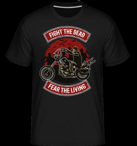 Fight The Dead -  Shirtinator Men's T-Shirt - Black - Front