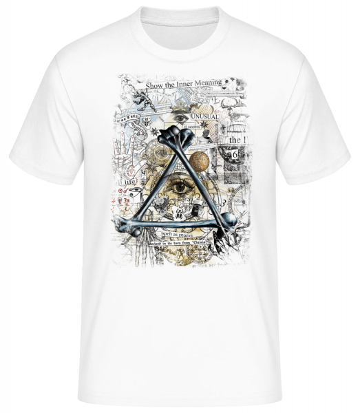 Show The Inner Meaning - Men's Basic T-Shirt - White - Front