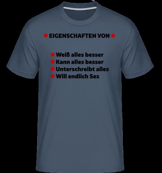 Will Endlich Sex · Shirtinator Männer T-Shirt