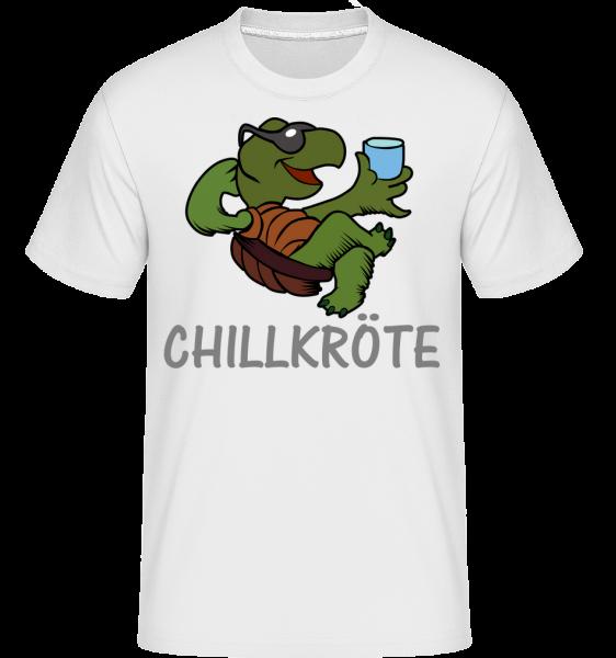 Chillkröte - Shirtinator Männer T-Shirt - Weiß - Vorn