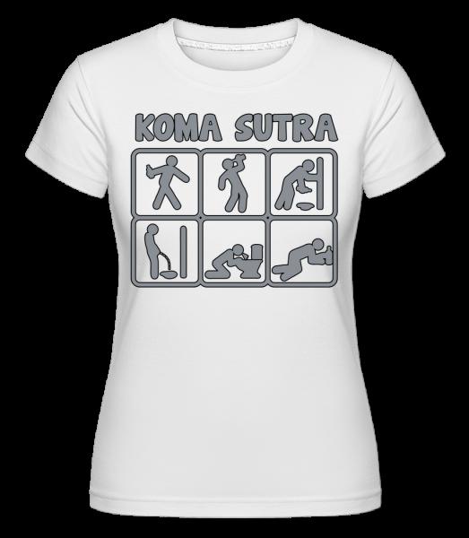 Koma Sutra - Shirtinator Frauen T-Shirt - Weiß - Vorn