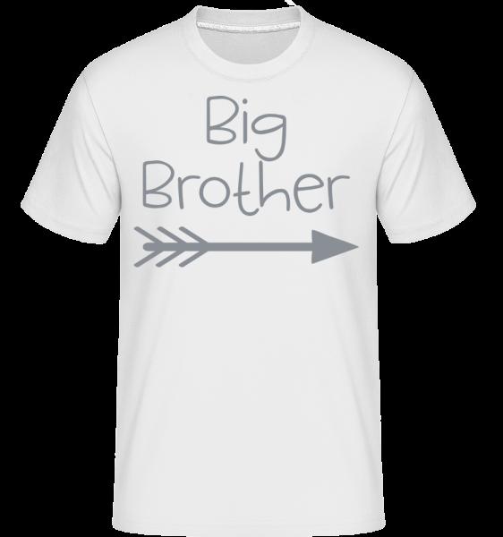 Big Brother -  Shirtinator Men's T-Shirt - White - Vorn