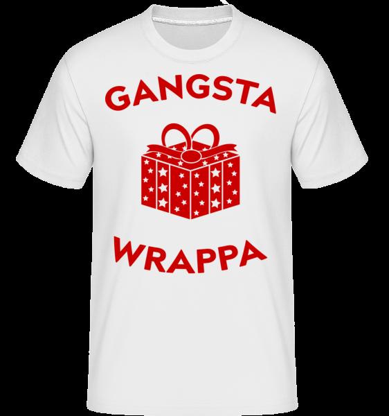 Gangsta Wrappa -  Shirtinator Men's T-Shirt - White - Vorn