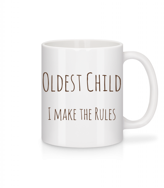Oldest Child - Mug - White - Vorn