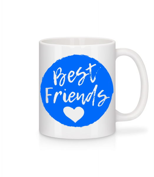 Best Friends Love - Tasse - Weiß - Vorn